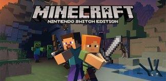 Minecraft na Nintendo Switch em Maio