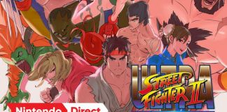 Ultra Street Fighter II na Nintendo Switch em Maio