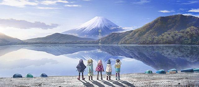 YuruCamp - Imagem Promocional