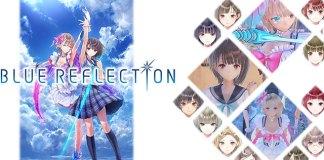 Blue Reflection - Novo Gameplay