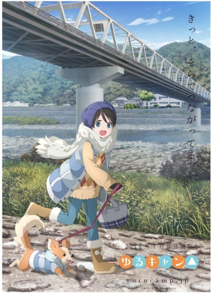 YuruCamp△ – Nova imagem promocional do anime