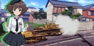 3º trailer de Girls und Panzer: Dream Tank Match