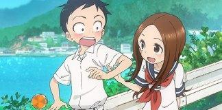 Karakai Jouzu no Takagi-san com 12 episódios