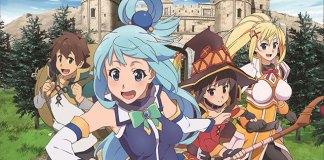 Konosuba 2 com a melhor OVA de 2017