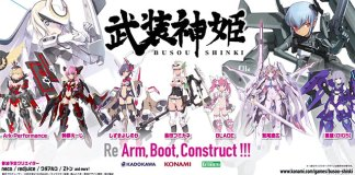 Busou Shinki com novo jogo e mangá