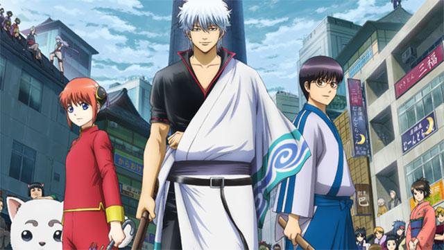 Anime de Gintama: Silver Soul entra em hiato