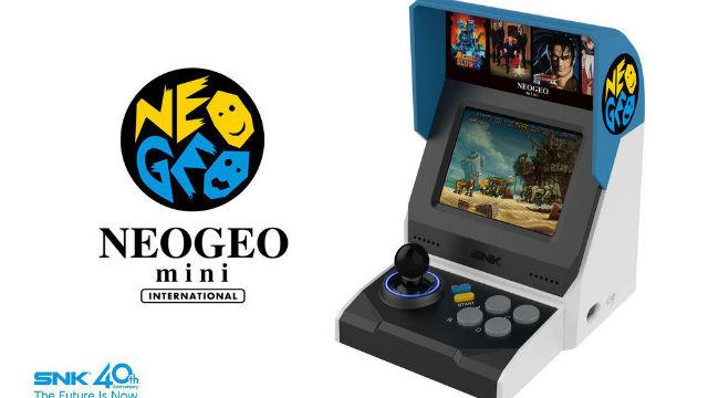 SNK revela Neo Geo Mini