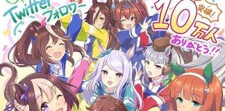 Uma Musume Pretty Derby comemora 100 mil seguidores