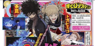 Toga e Dabi confirmados em My Hero One's Justice