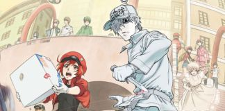 Vídeo promocional e imagem de Cells at Work!