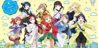 Imagem promocional de Love Live! Sunshine!! The School Idol Movie: Over the Rainbow