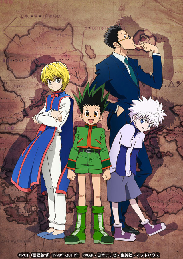 Maratona Anime De Hunter X Hunter Na Tv Japonesa Otakupt
