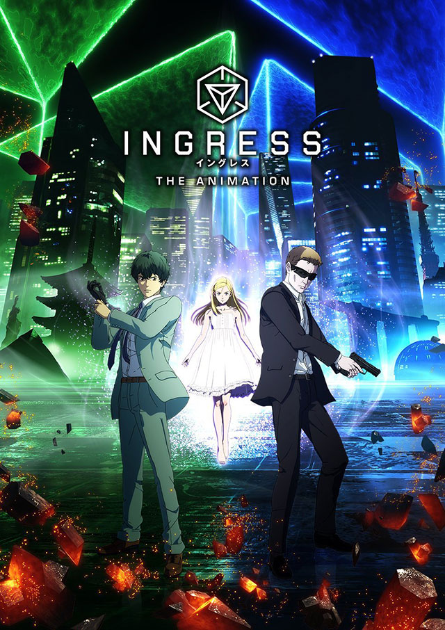 Nova imagem promocional do anime de Ingress