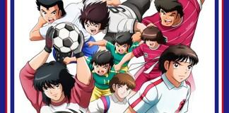 """Imagem promocional do arco """"Middle School"""" de Captain Tsubasa"""