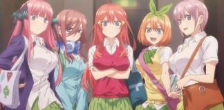 Go-Toubun no Hanayome vai ter 12 episódios