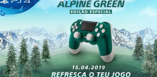 PlayStation revela DUALSHOCK 4 Alpine Green