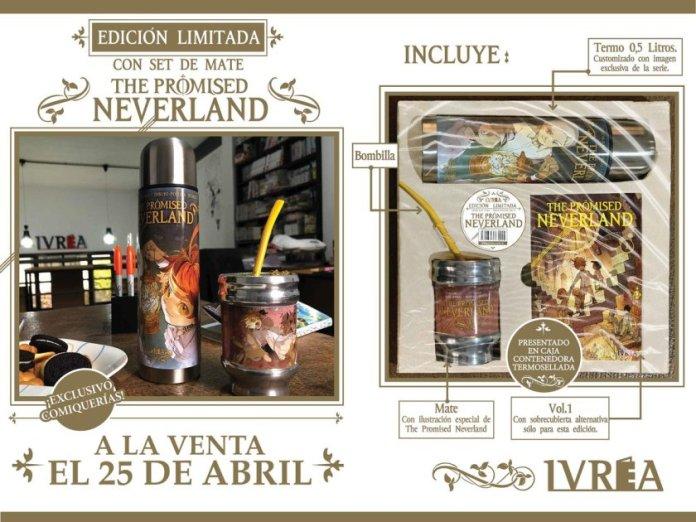 The Promised Neverland terá uma inusitada edição limitada na Argentina