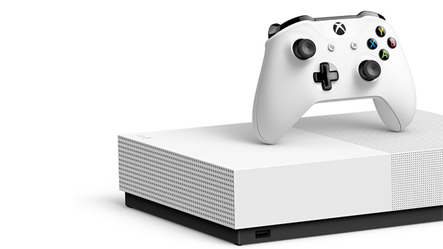 Xbox One S totalmente digital a 7 de Maio