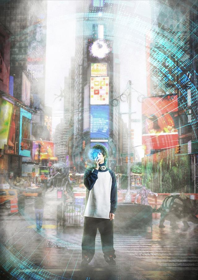 Imagem promocional a peça de teatro de Kekkai Sensen