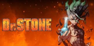Parte do 1º episódio de Dr. Stone a 1 de julho no Youtube