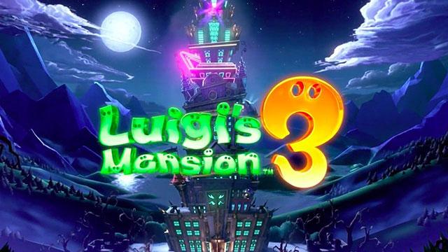 Luigi's Mansion 3 já tem data de lançamento