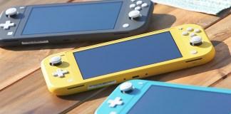 Nintendo anuncia Switch Lite - consola mais pequena e barata