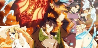 The Rising of the Shield Hero foi o anime nº 1 na AT-X na primeira metade de 2019