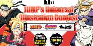 Criador de Naruto realiza primeiro concurso de desenho para fãs