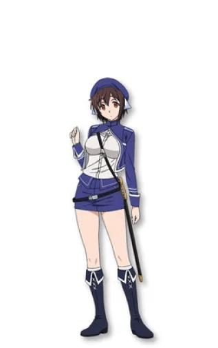 Ari Ozawa como Lynn May, sargento-mor nas Forças Armadas Reais da Alcian