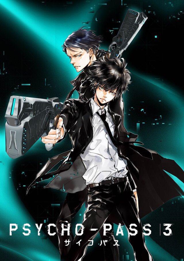 Imagem promocional de Psycho-Pass 3