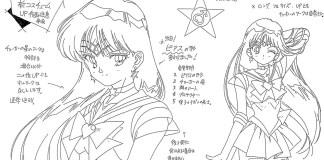 Conhece algum material de produção de Sailor Moon S