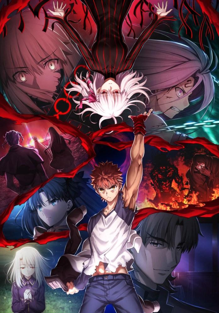Imagem promocional de Fate/stay night: Heaven's Feel III. spring song. desenhada pelo diretor Tomonori Sudō