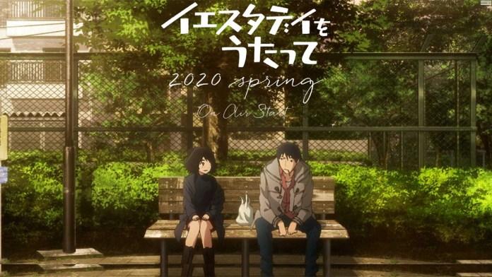 Anime Yesterday o Utatte vai estrear na Primavera 2020