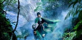 Imagem promocional da peça de teatro de The Rising of The Shield Hero