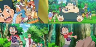 Novas imagens da nova série anime de Pokémon