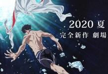 Novo filme anime de Free! foi adiado por tempo indeterminado