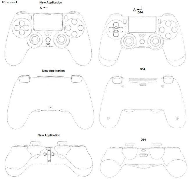 Comparação DualShock 5 com DualShock 4