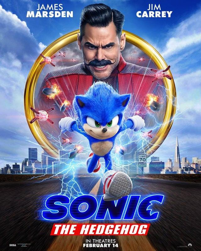 Poster de Sonic – O Filme
