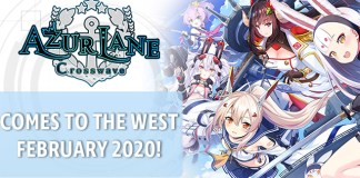 Azur Lane: Crosswave no Ocidente em Fevereiro