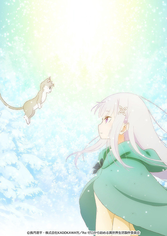 Imagem promocional de Re:Zero Hyouketsu no Kizuna