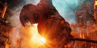 Imagem promocional dos dois últimos filmes live-action de Samurai X