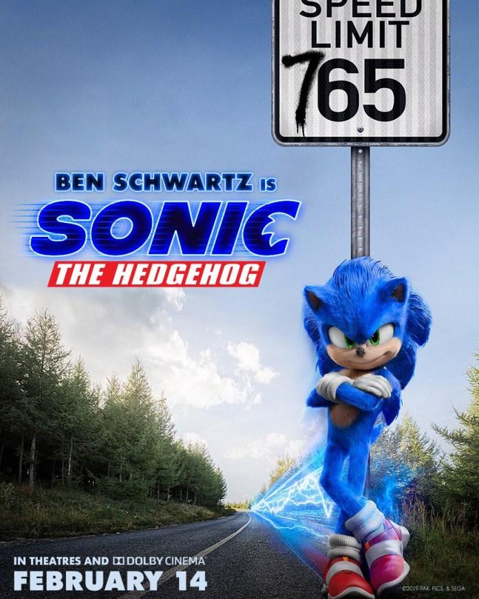 Novo Póster de Sonic – O Filme
