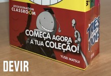 Devir vai lançar Pack de Assassination Classroom