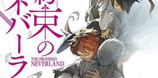 Esta é a capa do volume 18 de The Promised Neverland