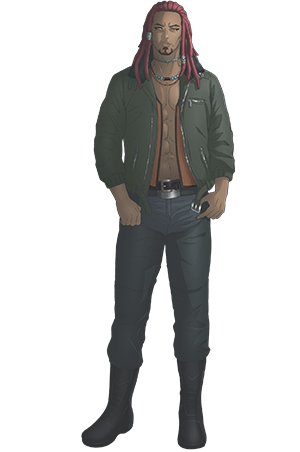 Shunsuke Takeuchi como Brawler (Kenkaya), um idiota que pensa que o poder é tudo. Ele tem uma personalidade pura e direta.