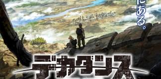 Série anime original Deca-Dence vai estrear no Verão