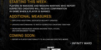 Call of Duty: Warzone vai colocar batoteiros contra batoteiros