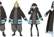 Design de personagens de Fire Force 2
