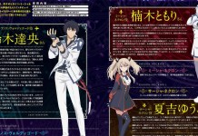 Design de personagens de Maou Gakuin no Futekigousha