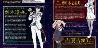 Design de personagens de Maou Gakuin no Futekigousha